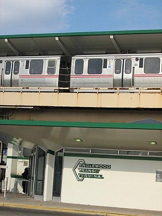 Ashland/63rd station - Image: 63Ashland CTA