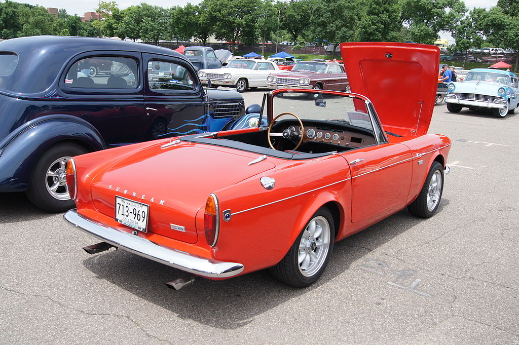 Sunbeam Tiger Car Shows