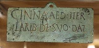 Dédicace aux dieux lares (Musée de Die)