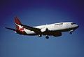 67cd - Qantas Boeing 737-476; VH-TJK@SYD;15.08.1999 (5363499468).jpg