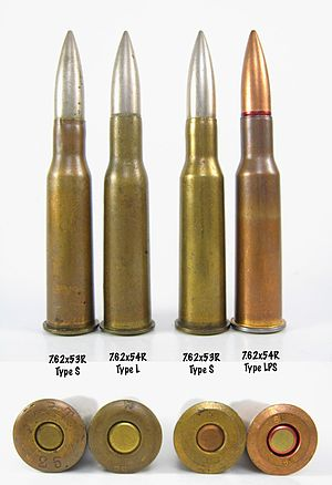 7.62×53mmR - Comparison of Finnish 7.62×53mmR and Russian 7.62×54mmR cartridges