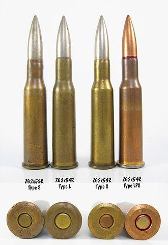 7.62×53mmR - Comparison of Finnish 7.62×53mmR and Russian 7.62×54mmR cartridges
