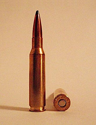 7mm-08 Remington - Image: 7mm 08 Remington