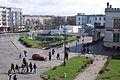 8032viki Dworzec Główny przed remontem. Przed budynkiem widoczna fontanna. Foto Barbara Maliszewska.jpg