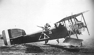 2d Operations Group - Breguet 14 B.2 bomber of the 96th Aero Squadron