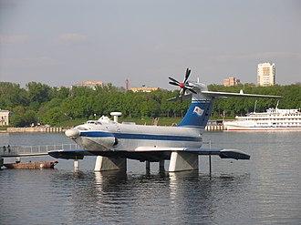 "Rostislav Alexeyev - A-90 Orlyonok (""Eaglet"") in Moscow."