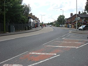 A412 road - Image: A412, Watford Road geograph.org.uk 1396920