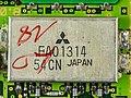 AEG Mobile Communication E-Plus PT-10 - subboard - Mitsubishi FAO1314-0376.jpg