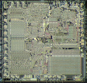 Intel 8088 - Die of AMD 8088
