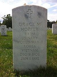 ANCExplorer Grace Hopper grave.jpg