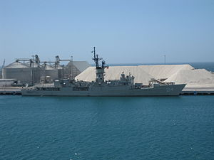USS Whipple (FF-1062) - ARM Mina in 2009.