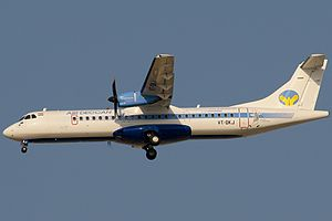 Simplifly Deccan - Air Deccan used ATR for regional destinations