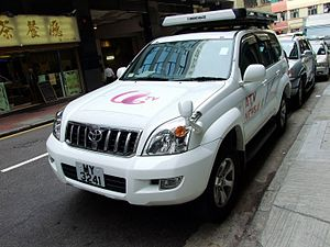 Asia Television - ATV News vehicle