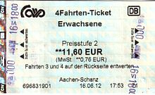 Bahn tagesticket nrw single