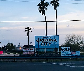 Arizona City, Arizona CDP in Arizona, United States