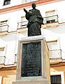 A Domingo de Silos Moreno, obispo de Cádiz.JPG