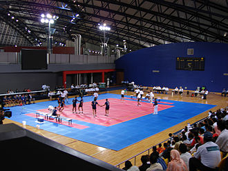 A kabaddi court at the 2006 Asian Games A Kabaddi match at 2006 Asian Games.jpg