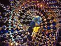 A Pira Olímpica durante a cerimonia de encerramento das Olimpiadas Rio 2016.jpg