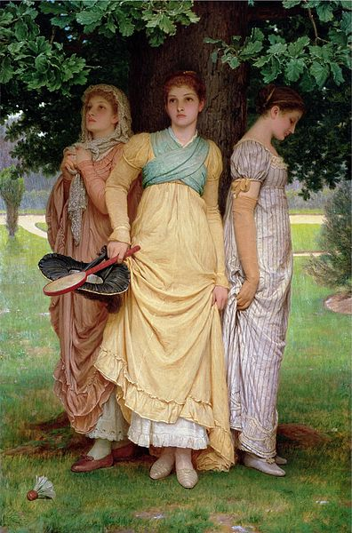 File:A Summer Shower, by Charles Edward Perugini.jpg