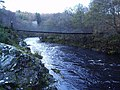 A Suspension Bridge crossing the River Shin - geograph.org.uk - 76409.jpg
