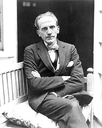 A. A. Milne - A. A. Milne in 1922