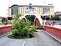 A garden on the Swing Bridge, Newcastle Gateshead Bridges Festival (geograph 2554397).jpg