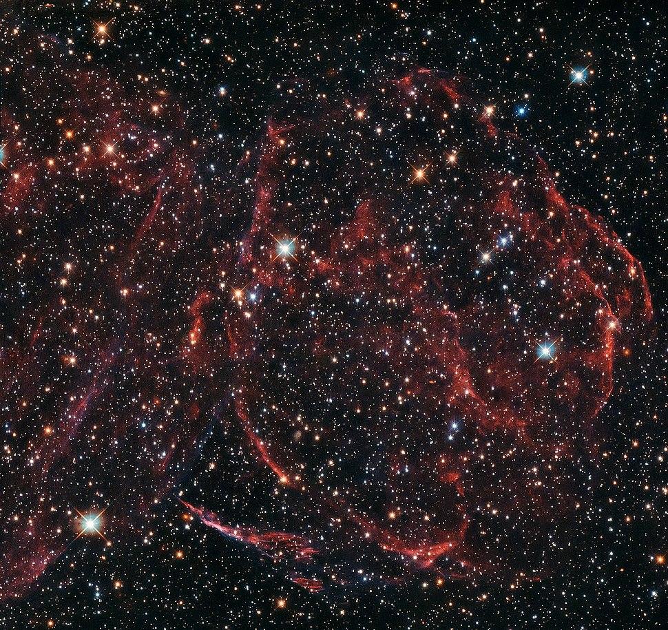 A long-dead star DEM L316A