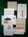 A selection of children's drawings used by Melanie Klein Wellcome L0021301.jpg