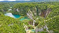A view to the green waters of Plitvica stream in Croatia (48607811222).jpg