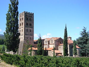 Codalet - The Saint-Michel-de-Cuxa Abbey, in Codalet