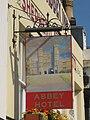 Abbey Hotel sign - geograph.org.uk - 1981611.jpg