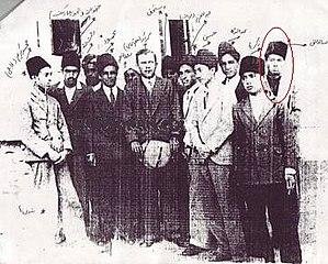 Abdul Khaliq Hazara (assassin) - Khaliq and his class mate, Khaliq is in the right corner with red circles
