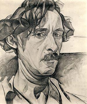 Abraham A. Manievich - Self-Portrait (1924)