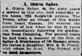 Abraham Oldrin Salter (1838-1921) obituary in the New York Herald on May 8, 1921.jpg