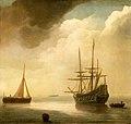Abraham de Verwer (c.1580-1650) - A Ship in a Calm Sea - BHC0734 - Royal Museums Greenwich.jpg