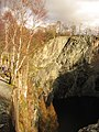 Abseiling at Hodge Close quarry - geograph.org.uk - 355175.jpg
