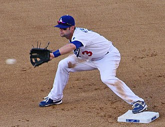 Adam Kennedy - Kennedy with the Los Angeles Dodgers