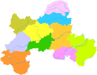 Yuanzhou District, Yichun District in Jiangxi, Peoples Republic of China