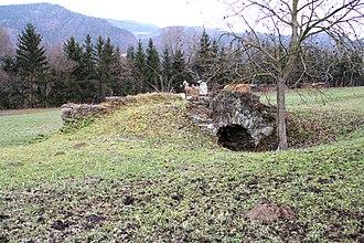 Frohnleiten - Roman bridge near Frohnleiten (Aldriach)