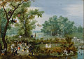 Adriaen van de Venne (Dutch - A Merry Company in an Arbor - Google Art Project.jpg