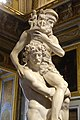 Aeneas, Anchises, and Ascanius by Bernini, 1618-1620, marble, view 3 - Galleria Borghese - Rome, Italy - DSC04801.jpg