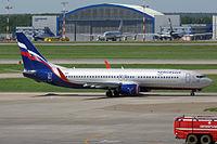 VP-BRR - B738 - Aeroflot