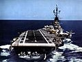 Aft view of USS Ticonderoga (CVA-14) c1957.jpg