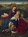 After Robert Campin - The Madonna of Humility - 77.PB.28 - J. Paul Getty Museum.jpg