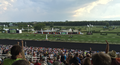 After the finish of the American St. Leger 2015 at Arlington International Racecourse, Chicago, Illinois.png