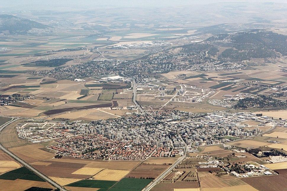 Afula aerial photo