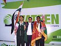 Agni with national flag and others.jpg