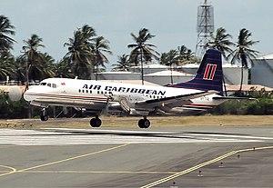 Air Caribbean (Trinidad and Tobago) - Air Caribbean YS-11 in 1999