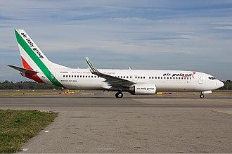 Air Poland - An Air Poland Boeing 737-800.