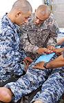 Airborne medics train Iraqi security force counterparts on basic combat medic skills DVIDS189570.jpg